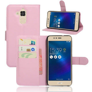 For Asus Zenfone 3 Max Wallet PU Leather Phone Cases For Asus Zenfone 3 Max ZC520TL Magnetic Filp Cover Holder Stand Case - Deals Blast