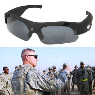 Sunglasses Mini Camera Black Mini DV Camcorder DVR Video Camera Smart Glasses HD 1080P For Outdoor Action Sport Video: Deals Blast