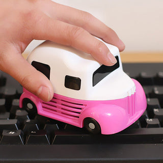 New Fashion Mini Car molding Vacuum Cleaner Dust Collector For Computer PC Desktop Keyboard Cleaning Brush: Deals Blast
