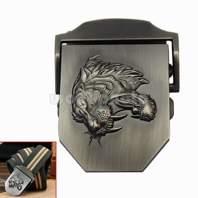 1pc Military Army Cool Style Mens Boys Tiger Head Carved Metal Belt Buckle Gift Clothes Accessories 6.8*5.2*2cm - Deals Blast