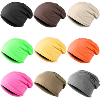 New Fashion Men Women Beanie Top Quality Solid Color Hip-hop Slouch Unisex Knitted Cap Winter Hat Beanies  JL: Deals Blast