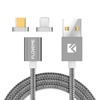 Universal Magnetic USB Charging Cable For iPhones 5 6 7 and Android Phones - Deals Blast