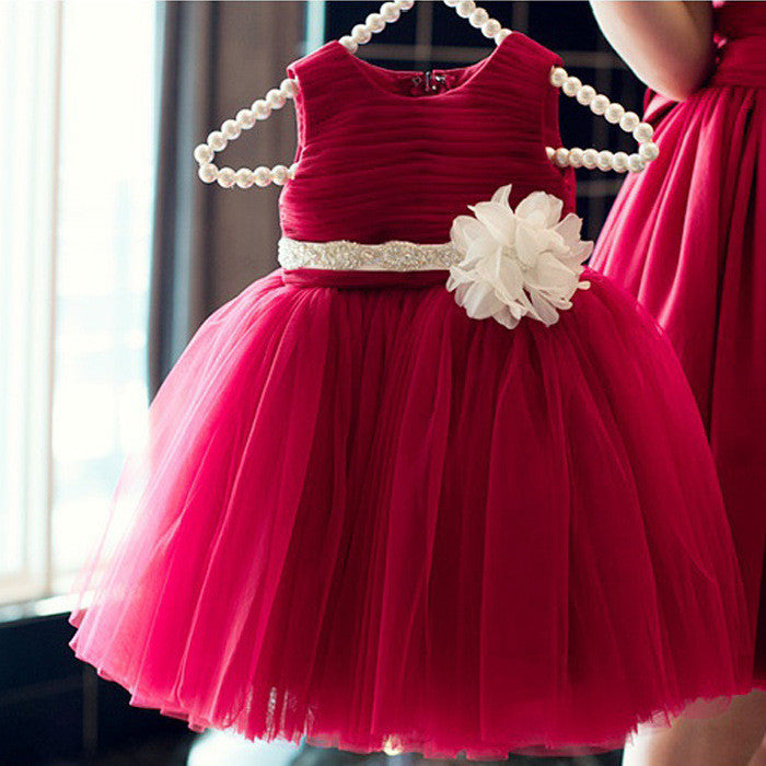2 To 8 Years Girls Clothes Girl Dress flower girl dresses for wedding pageant Kids Dresses for Girls Costumes - Deals Blast