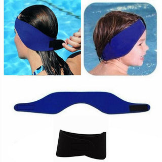 Kids Neoprene Ear Band Head Band Swimming Bathing Protector Cap Wrap Adjustable: Deals Blast
