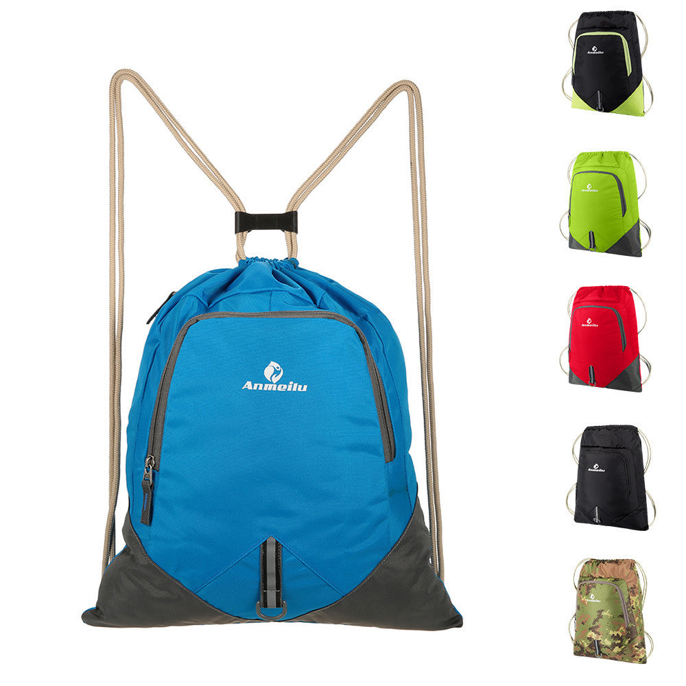 12L School Bags Bagpack Travel Foldable Lightweight Backpack Women Men Waterproof Drawstring Bag Ultralight Outdoor Bag - Deals Blast