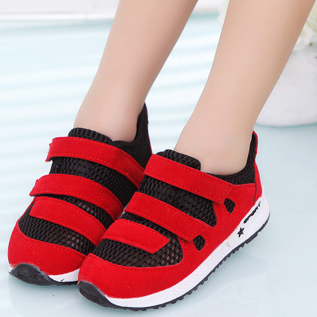 2017 Children Shoes Fashion Breathable Sneakers For Girls And Boys Summer Kids Shoes - Deals Blast