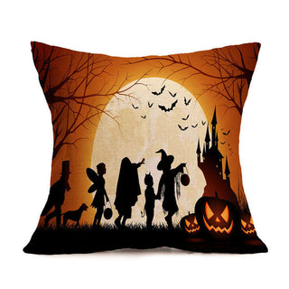 New Halloween Theme Castle Bat Bed Home Pillowcase Pillow Cases for Gifts: Deals Blast