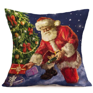 Pillowcase Home Wider Hot Selling New Christmas Cartoon Decoration Festival Pillow Case Cushion Cover Free Shipping - Deals Blast