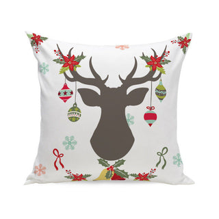 Pillowcase Home Wider Ouneed  Christmas Super Soft Square Throw Pillow Case Decorative Cushion Pillow Cover - Deals Blast