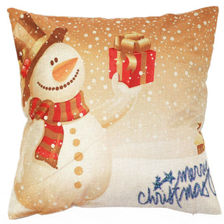 Vintage Christmas Home Pillow Case Cover pillowcase for the pillow 45*45 - Deals Blast