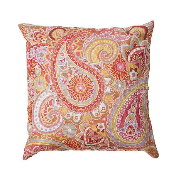 1 pcs  Pillow Case Floral Linen Pillow Cases Pillow Cover Home Textile Decorative Pillowcases  Cover 43*43cm - Deals Blast