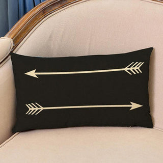 Fashion Arrow Pillowcase Cushion Cover Decorative Sofa Throw Pillow Car Chair Pillow Cases Home Decor Kussensloop Decorative - Deals Blast