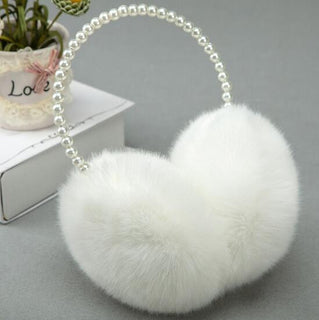 Fashion Rabbit Fur Earmuffs Ear Muffs Ear Warmers Earmuffs Winter Outdoor Women Christmas Gifts - Deals Blast