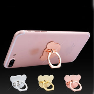 UVR Cartoon bear Finger Ring Smartphone Stand Holder mobile phone holder stand For iPhone iPad Xiaomi huawei all Smart Phone - Deals Blast