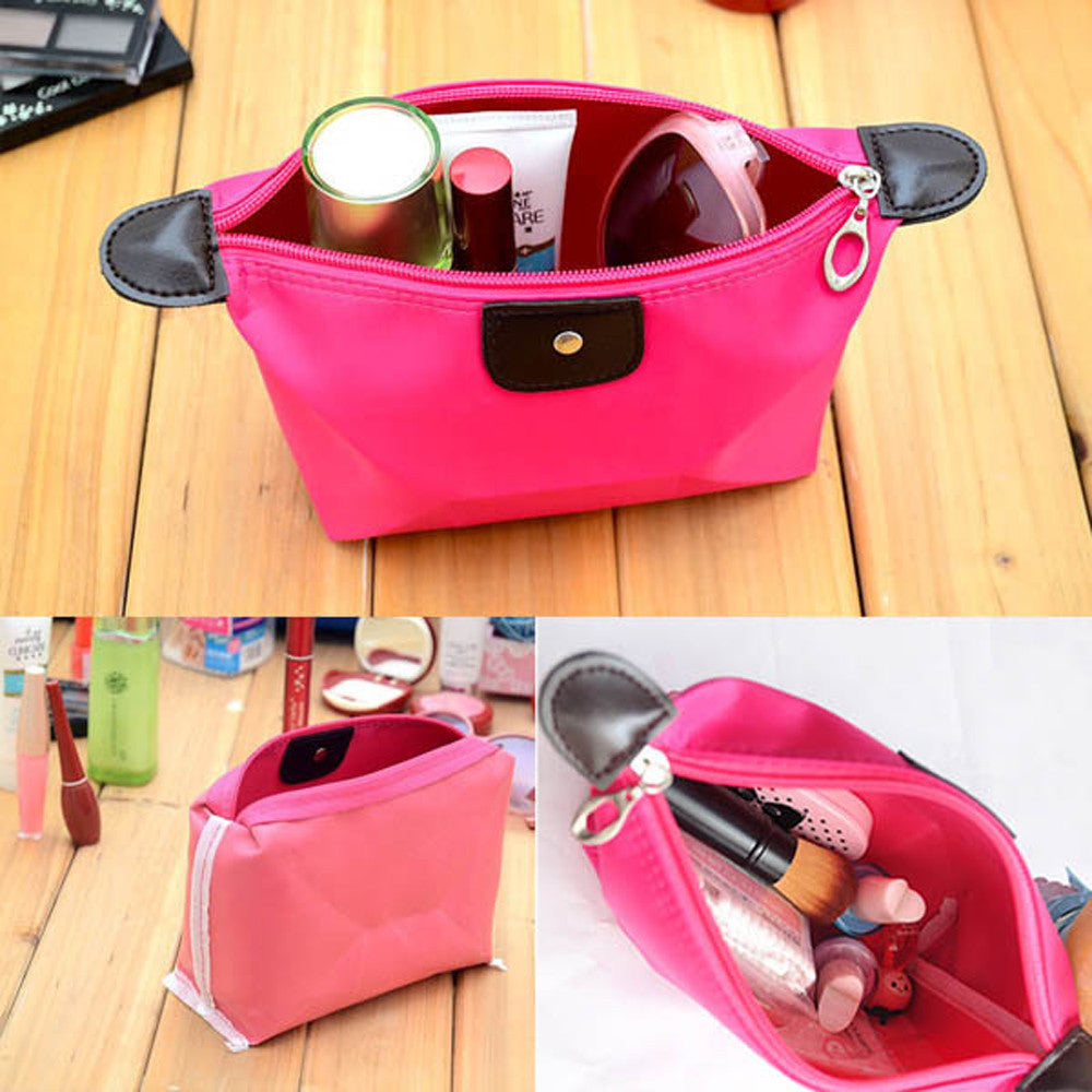 Vanity Toiletry Travel  Kit Men Women Make Up Necessaries Cosmetic Shaving Bag Organizer For Women Men Beauty Case Pouch: Deals Blast
