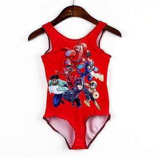 New Summer Style One Piece 3-8Y Girls Swimsuit Children Swimwear For Baby & Kids Beachwear Bathing Suit - Deals Blast