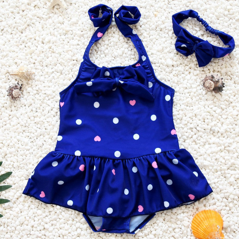 2017 Children's Swimwear For Girls Kid Swimsuit Beach Wear Kids Cute Bikini Girls One Piece Swimsuit Bathing Suits - Deals Blast