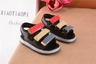 Summer Children Shoes Girls Baby Sandals Led Kids Light Up Shoes Boys Casual Comfortable Soft Bottom Toddler Sandals Shoes - Deals Blast