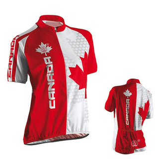 Women NEW Hot 2017 CANADA BIKE WEAR hot / road RACE Team Bicyle Pro Cycling Jersey / Clothing / Wear Breathing Air