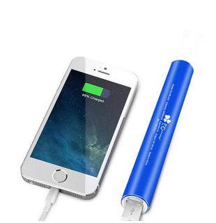 Power bank 18650 Brand EC Technology External Battery Charge mi powerbank battery With Built-in LED Flashlight: Deals Blast