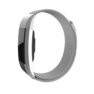 Magnetic Milanese Loop Adjustable Wrist Strap Bracelet Stainless Steel Watch Band Closure for Fitbit Charge 2: Deals Blast