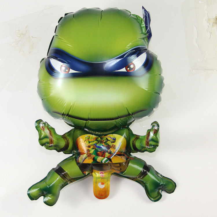 10pcs/lot Teenage Mutant Ninja Turtles balloon cartoon children's toys party decoration balloons - Deals Blast