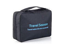 The new toilet bag TRAVEL SEASON folding portable cosmetic bag toiletry kits: Deals Blast