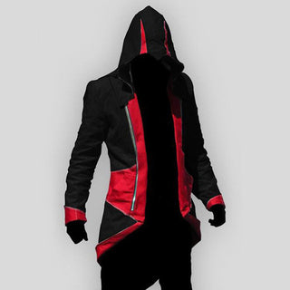 Plus Size XXL Hot Sale Assassins Creed 3 III Conner Kenway Hoodie Coat Jacket Anime Cosplay Assassin's Costume Cosplay Overcoat - Deals Blast