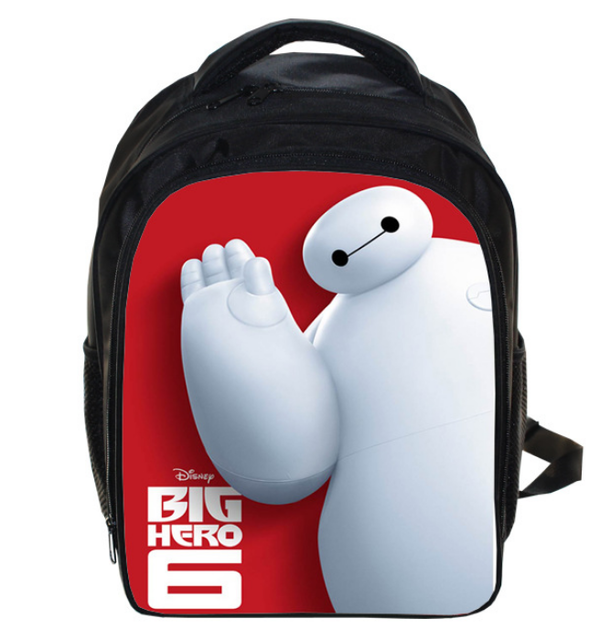 13 Inch Big Hero 6 Baymax School Bags for Kindergarten Child kids Backpack for Boys Girls Children's Backpacks Mochila - Deals Blast