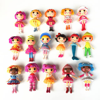 8pcs/lot  New 8cm MGA mini Lalaloopsy Doll the bulk button eyes toys for girl classic toys Brinquedos: Deals Blast