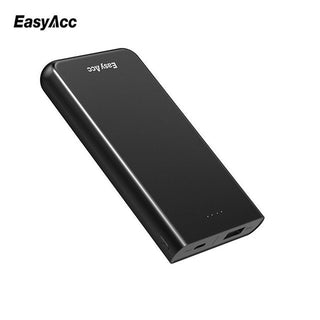EasyAcc 9000mAh Power Bank portable charger 18650 External Battery dual usb Powerbank for iPhone Samsung HTC Phone Tablets - Deals Blast
