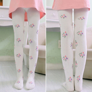 Kids Girls tights Children tights Pantyhose Autumn Winter Warm Baby Girl Stockings Girl stocking Black and White Colors 19: Deals Blast