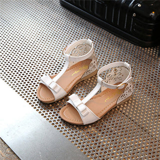 Summer children's casual shoes girl princess exposed toe sandals children flat bottom - Deals Blast