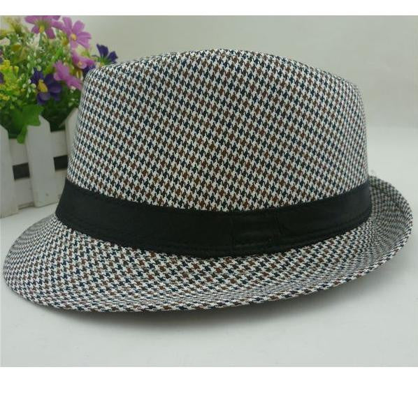 1PC Hot sell 2016 Boys fedora top hats for kids Fedoras baby cap dicer - Deals Blast