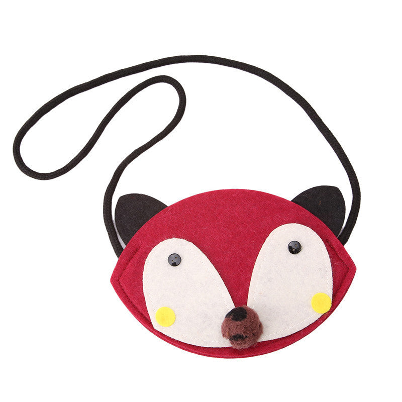 Animal Shape Kids Coin Bag Handmade Non-woven Fabric Patch Handbag Children Mini Bag Kid Girl Toy Bag Small Wallet Pouch Deals Blast