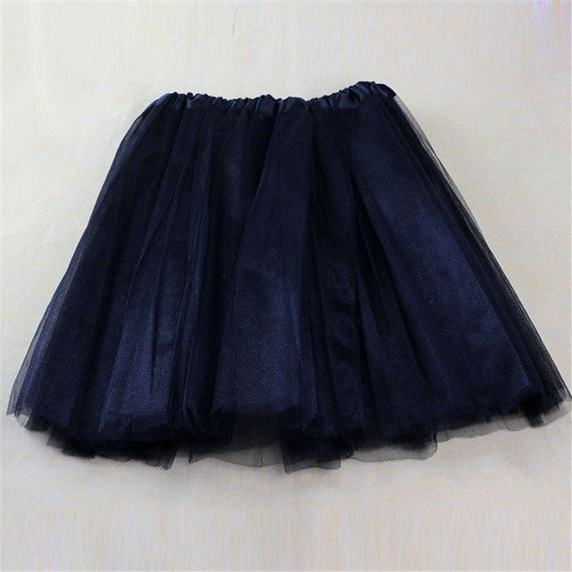 2017 Fabulous * new 1PC Pretty Girl Elastic Stretchy Tulle Adult Tutu 3 Layer Skirt - Deals Blast