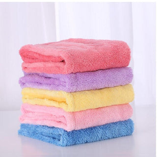 2017 New Women Microfiber Fabric Solid Hair Towel Super Absorbent Quick-dry Hair Hat Wrap Towel Bath  6 Colors Available 60x22cm - Deals Blast