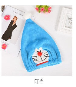 1PC Cute Creative Cartoon Thicken Bath Towel Hair Dry Hat Shower Cap Quick Hair Hats Towels Lady Adult children Bath Caps - Deals Blast