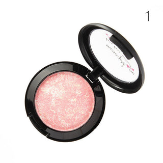 Face Makeup Baked Blush Palette Baked Cheek Color Blusher Blush Cosmetic Shadow - Deals Blast