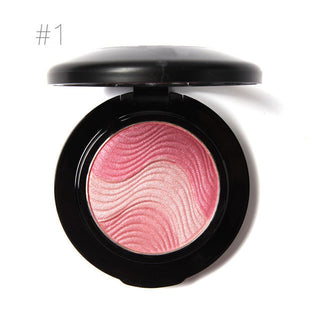 Natural Face Makeup Baked Blush Palette Baked Cheek Color Blusher Blush Cosmetic Face Shadow Press Powder: Deals Blast