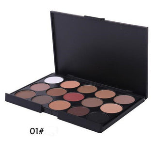 1 pcs Professional Eyes Makeup Pigment Eyeshadow 15Colors Eye Shadow Palette Beauty Brand - Deals Blast