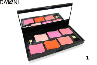 women blush makeup palette bronzing powder allik paleti coloretes blusher set baked maquillage fard joues bahama coloretes