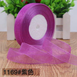 50 yards/roll 3/4''(20mm) organza ribbons wholesale gift wrapping decoration ribbons belt gift packing and craft diy (45meters): Deals Blast