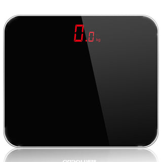 A3 Black 180kg electronic digital weight weighing bathroom scale body floor balance steelyard household scales machine - Deals Blast
