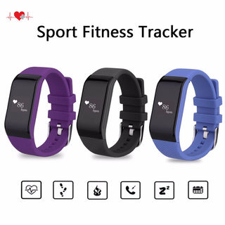 Diggro R1 Bluetooth Smart Bracelet Waterproof Fitness Tracker Heart Rate Monitor Smart Wristband Band for Android IOS PK Miband2: Deals Blast