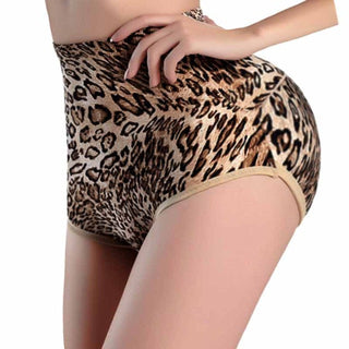 Women Butt Lifter and Tummy Control Panties Leopard Print Body Shaper Buttock Shorts Booty Lifting Tummy Underwear Hot Shapers