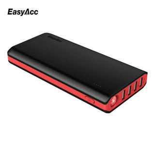 EasyAcc 20000mAh Power Bank 18650 External Battery with Lighting Powerbank universal charger for Moblie Phone Tablets - Deals Blast