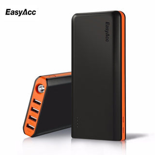 EasyAcc 20000mah Power Bank External Battery Dual USB Portable Charger For iPhone 7 6s xiaomi mi5 Redmi3 Samsung - Deals Blast