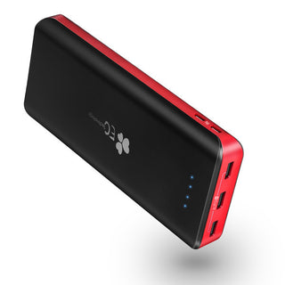 22400mah Power Bank 2 USB Input Fast Charger 3 USB Outputs Portable Powerbank Universal External Battery Charger: Deals Blast