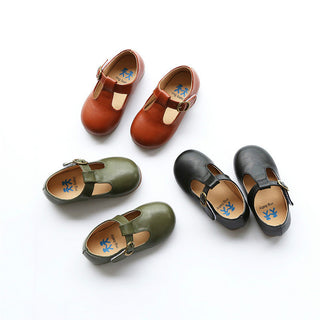 New spring and summer children's shoes boys and girls casual shoes kids leather shoes baby child soft bottom: Deals Blast